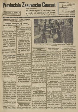 Provinciale Zeeuwse Courant 1941-02-19