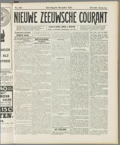Nieuwe Zeeuwsche Courant 1911-12-16
