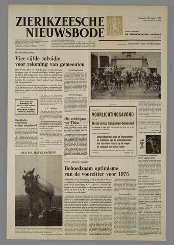 Zierikzeesche Nieuwsbode 1975-04-28