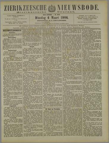 Zierikzeesche Nieuwsbode 1906-03-06