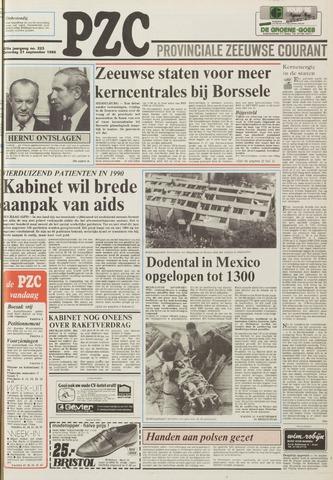 Provinciale Zeeuwse Courant 1985-09-21