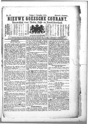Nieuwe Goessche Courant 1878-11-01