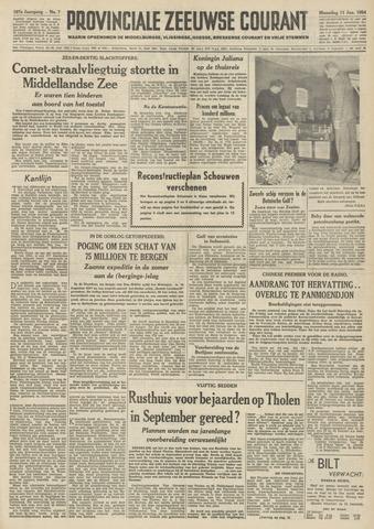 Provinciale Zeeuwse Courant 1954-01-11