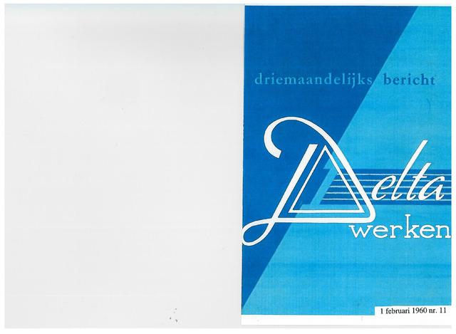 Driemaandelijks bericht Deltawerken 1960-02-01
