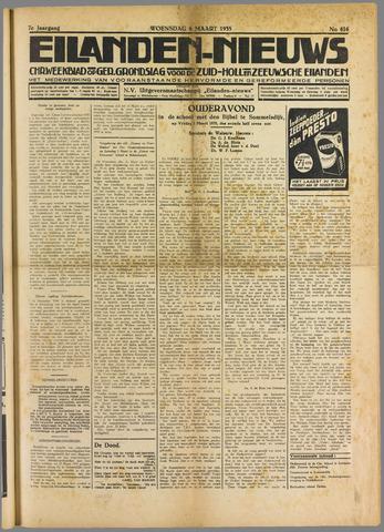 Eilanden-nieuws. Christelijk streekblad op gereformeerde grondslag 1935-03-06