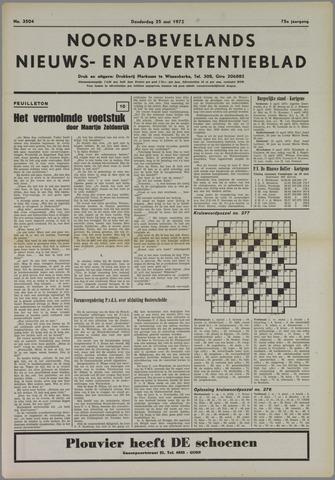 Noord-Bevelands Nieuws- en advertentieblad 1972-05-25