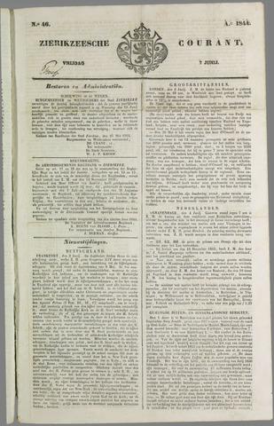 Zierikzeesche Courant 1844-06-07