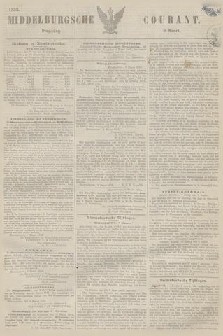 Middelburgsche Courant 1852-03-09