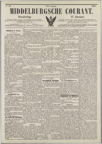 Middelburgsche Courant 1901-01-17