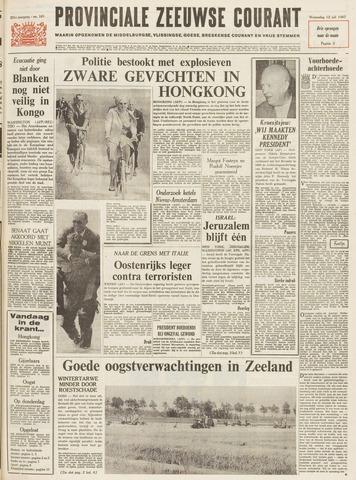 Provinciale Zeeuwse Courant 1967-07-12