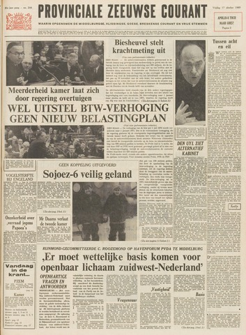 Provinciale Zeeuwse Courant 1969-10-17