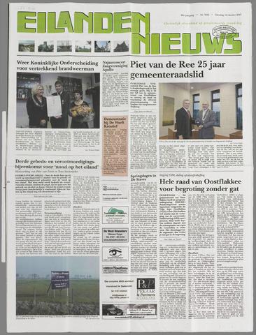 Eilanden-nieuws. Christelijk streekblad op gereformeerde grondslag 2007-10-16