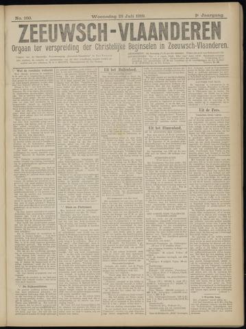 Luctor et Emergo. Antirevolutionair nieuws- en advertentieblad voor Zeeland / Zeeuwsch-Vlaanderen. Orgaan ter verspreiding van de christelijke beginselen in Zeeuwsch-Vlaanderen 1919-07-23