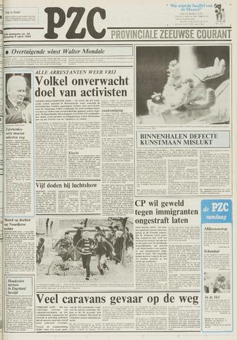 Provinciale Zeeuwse Courant 1984-04-09