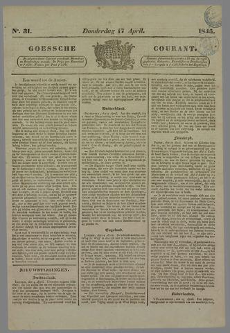 Goessche Courant 1845-04-17