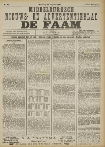 de Faam en de Faam/de Vlissinger 1904-08-10