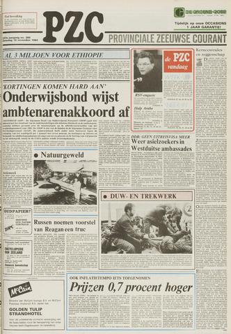 Provinciale Zeeuwse Courant 1984-11-10