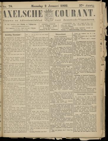 Axelsche Courant 1922