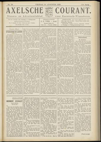 Axelsche Courant 1939-08-18
