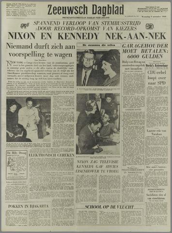 Zeeuwsch Dagblad 1960-11-09