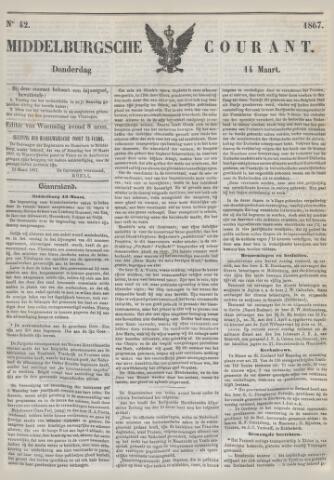 Middelburgsche Courant 1867-03-14