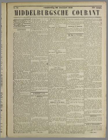 Middelburgsche Courant 1919-01-30