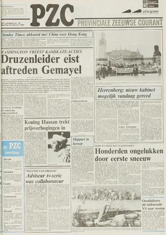 Provinciale Zeeuwse Courant 1984-01-23
