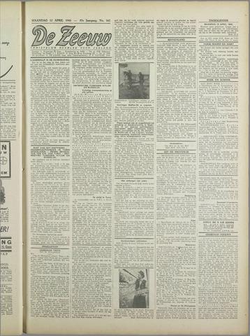 De Zeeuw. Christelijk-historisch nieuwsblad voor Zeeland 1943-04-12