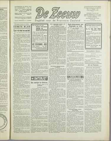 De Zeeuw. Christelijk-historisch nieuwsblad voor Zeeland 1937-10-23