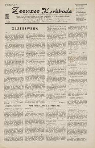 Zeeuwsche kerkbode, weekblad gewijd aan de belangen der gereformeerde kerken/ Zeeuwsch kerkblad 1965-10-22