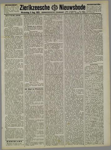 Zierikzeesche Nieuwsbode 1921-08-03