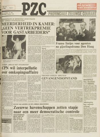 Provinciale Zeeuwse Courant 1974-10-17