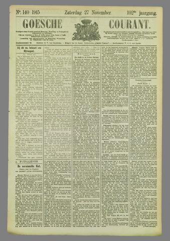 Goessche Courant 1915-11-27