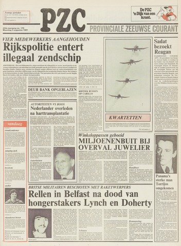Provinciale Zeeuwse Courant 1981-08-03
