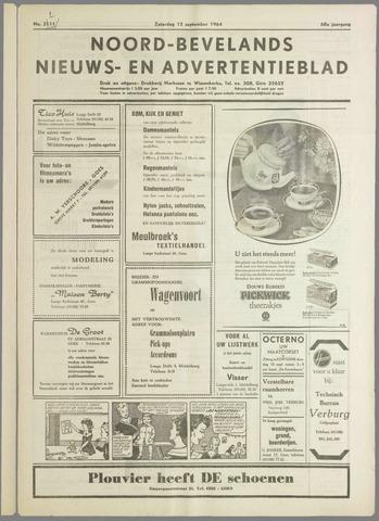 Noord-Bevelands Nieuws- en advertentieblad 1964-09-12