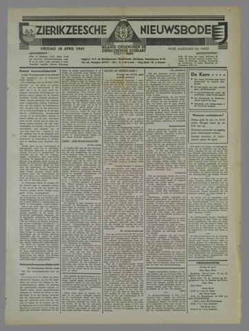Zierikzeesche Nieuwsbode 1941-04-18
