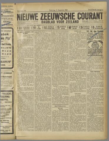Nieuwe Zeeuwsche Courant 1921-08-06