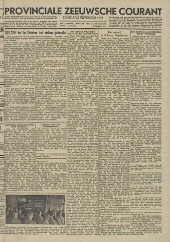 Provinciale Zeeuwse Courant 1943-11-02