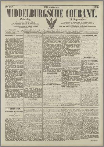 Middelburgsche Courant 1895-09-14