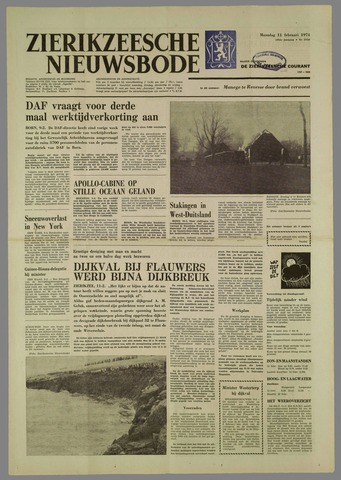 Zierikzeesche Nieuwsbode 1974-02-11