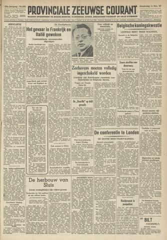 Provinciale Zeeuwse Courant 1947-12-11
