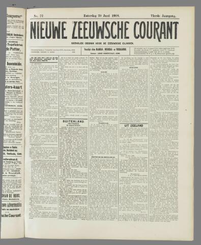 Nieuwe Zeeuwsche Courant 1908-06-20