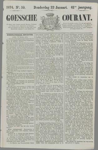 Goessche Courant 1874-01-22