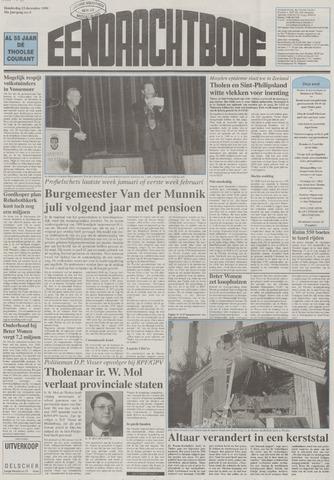 Eendrachtbode (1945-heden)/Mededeelingenblad voor het eiland Tholen (1944/45) 1999-12-23