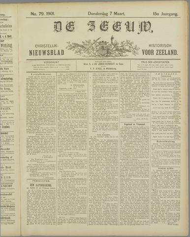 De Zeeuw. Christelijk-historisch nieuwsblad voor Zeeland 1901-03-07