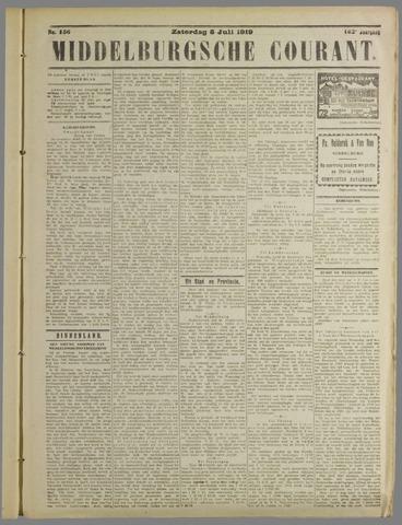 Middelburgsche Courant 1919-07-05