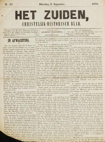 Het Zuiden, Christelijk-historisch blad 1876-08-08