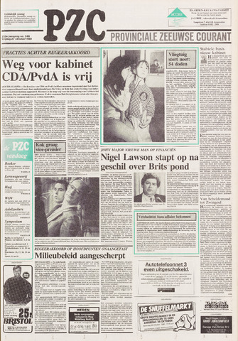 Provinciale Zeeuwse Courant 1989-10-27