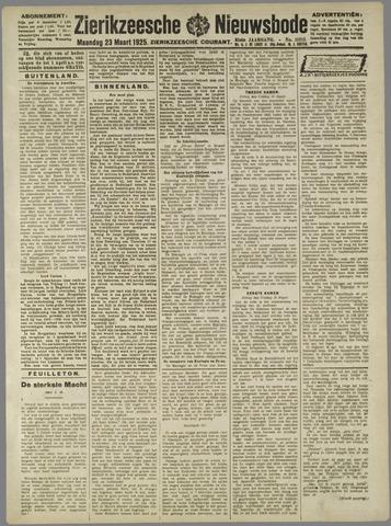 Zierikzeesche Nieuwsbode 1925-03-23