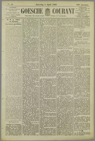 Goessche Courant 1919-04-05